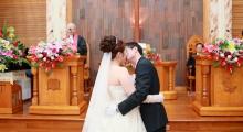 學儒、佳欣 - 教會證婚、高雄大八大飯店